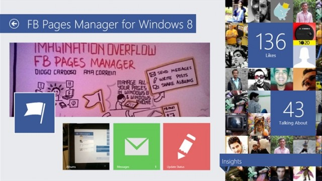 FB Pages Manager Windows App