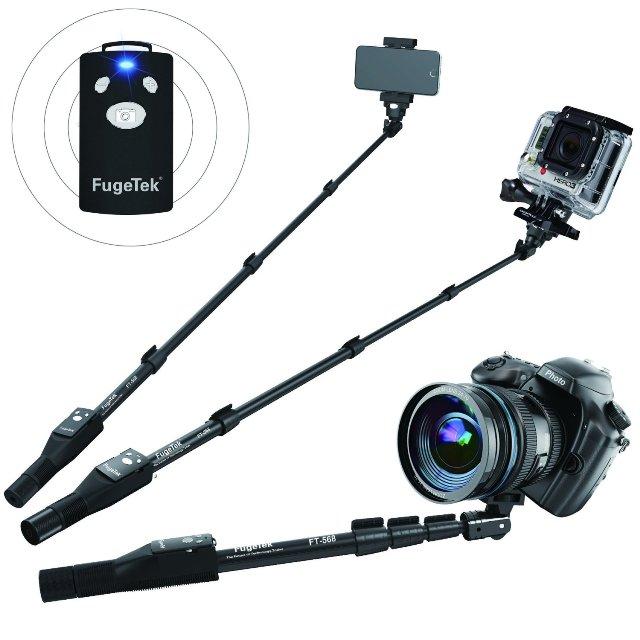 FugeTek Professional Selfie Stick & Monopod