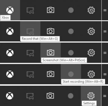 Funktionen der Game Bar