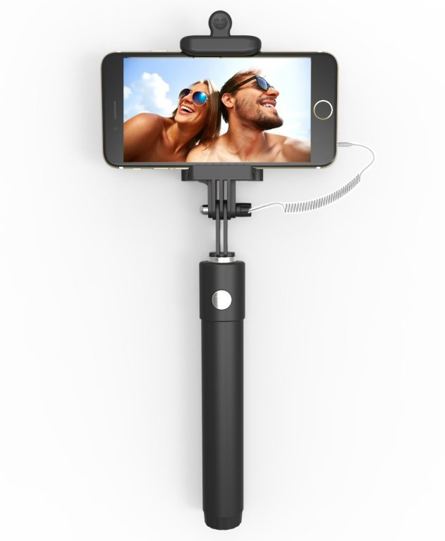Kiwii Wired Selfie Stick