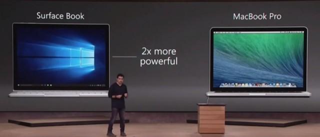 Macbook Pro Surface Book
