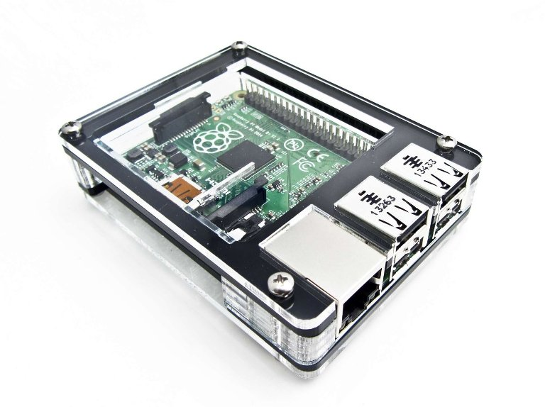 Raspberry Pi Zebra Case