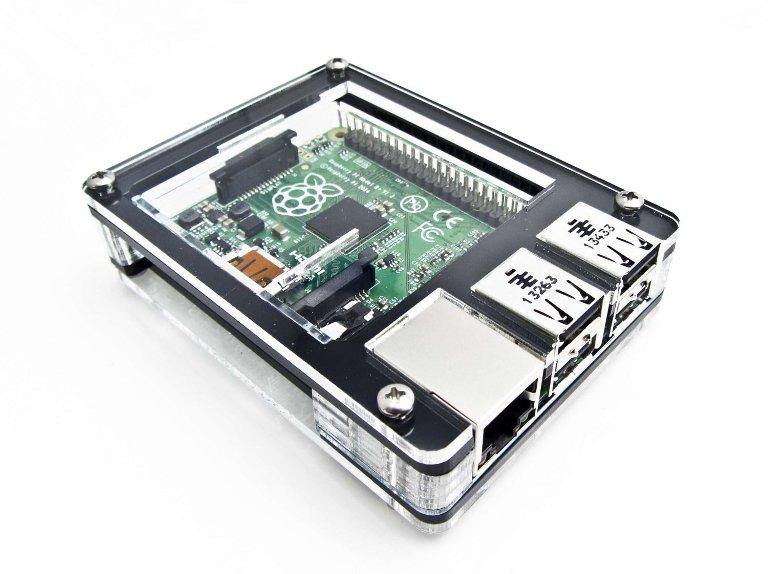 Raspberry Pi Zebra Case
