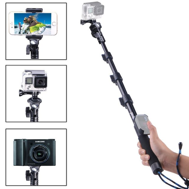 Smatree Y1 Telescopic Pole for GoPro