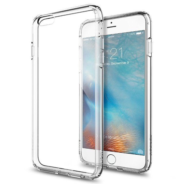 Spigen Crystal Clear iPhone 6s Plus Bumper Case