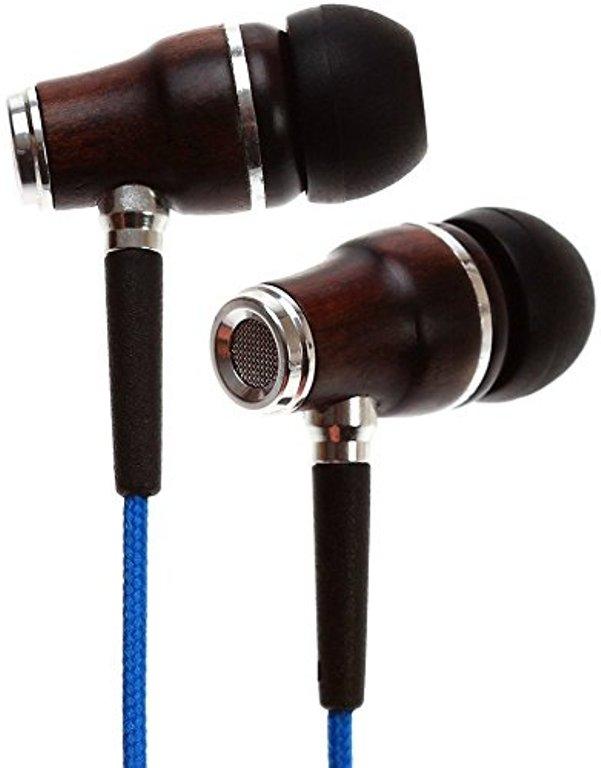 Symphonized NRG Wood Earbuds