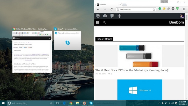 Windows 10 Snap & Virtual Desktop
