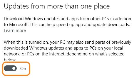 Windows 10 updates turn off