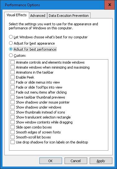 adjust-performance