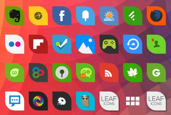 android-icons-leaf