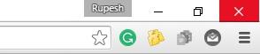 chrome flags extension toolbar