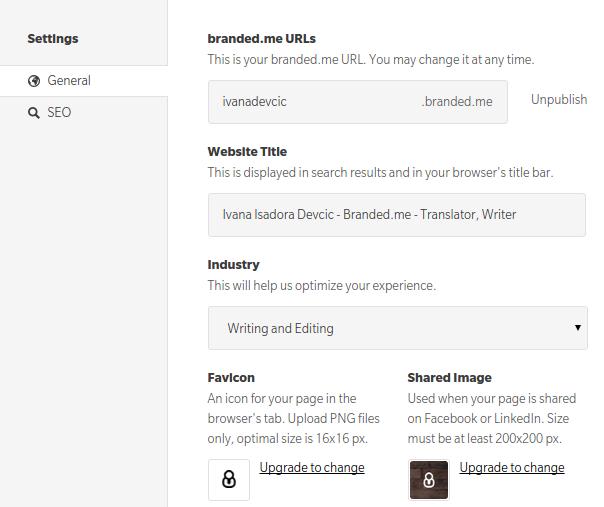 online-resumes-brandedme-settings