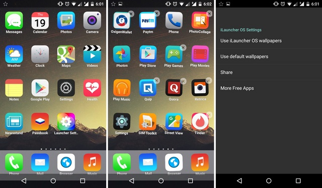 A Launcher Android App