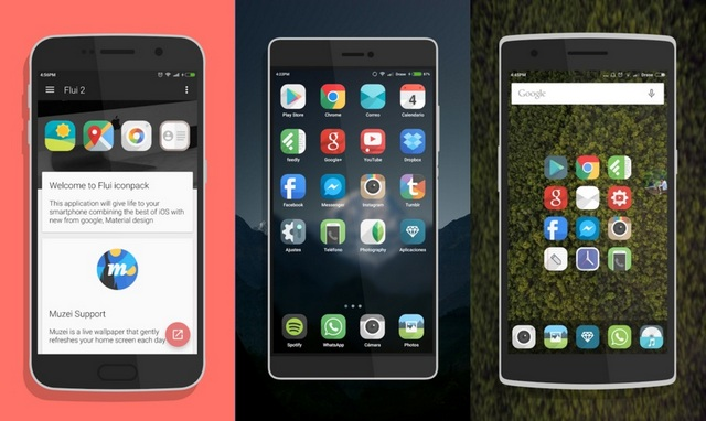 Flui Icon Pack Android App