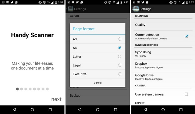 Handy Scanner Android