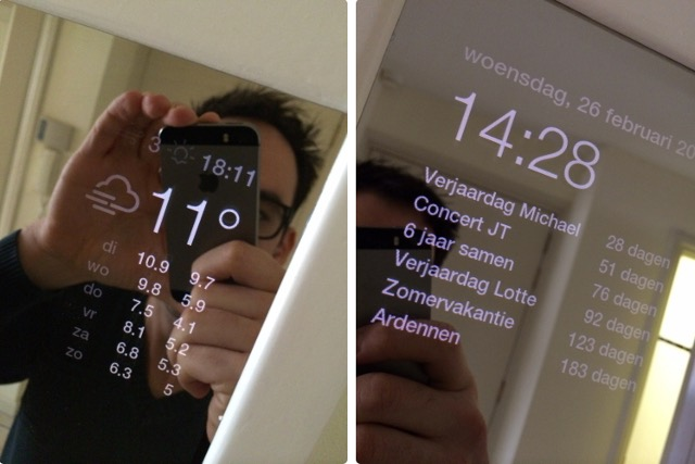 Magic Mirror - raspberry pi 2 cool projects