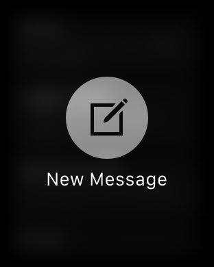 New Message Apple Watch