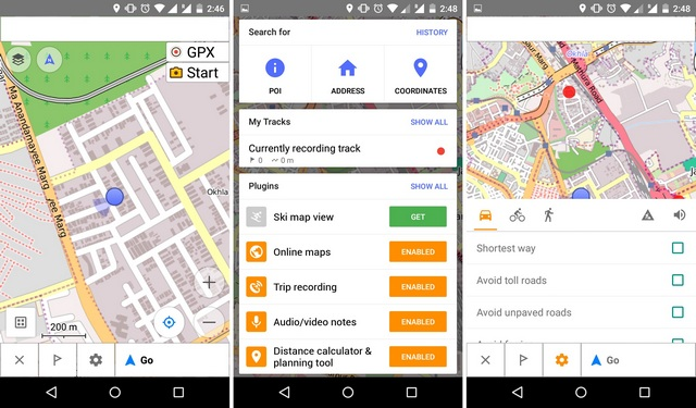 OsmAnd Android app