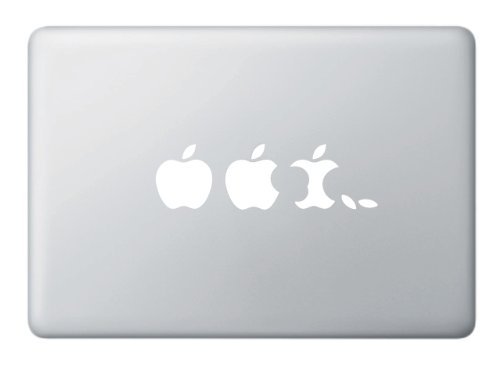 Apple Evolution Macbook Decal Sticker