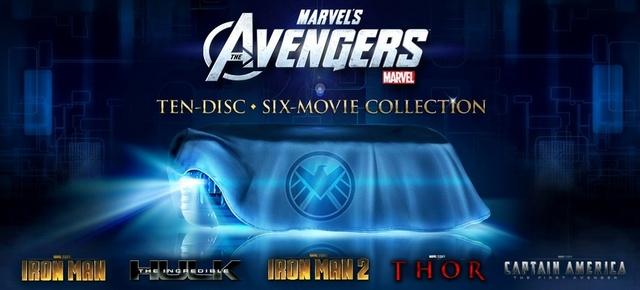 Avengers Box Set