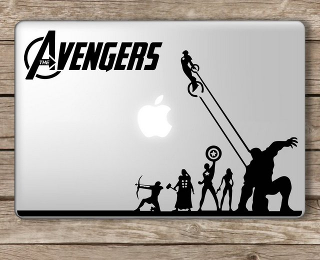 Avengers Macbook Decal Sticker