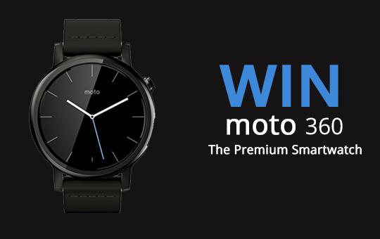 Win Moto 360 Beebom Giveaway
