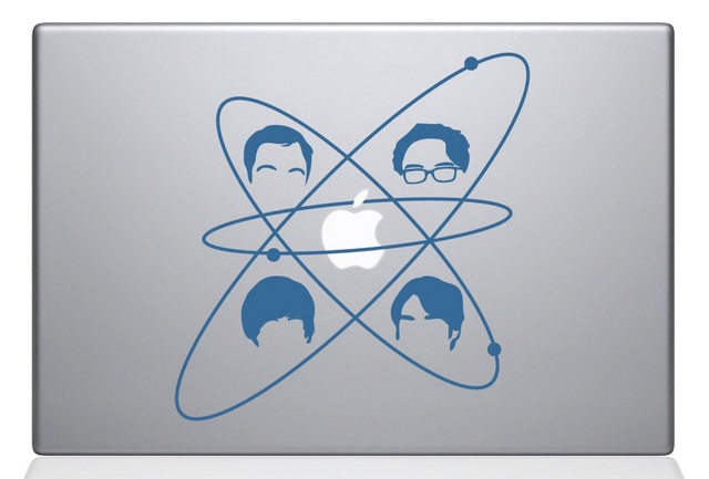 Big Bang Theory Macbook Decal Sticker