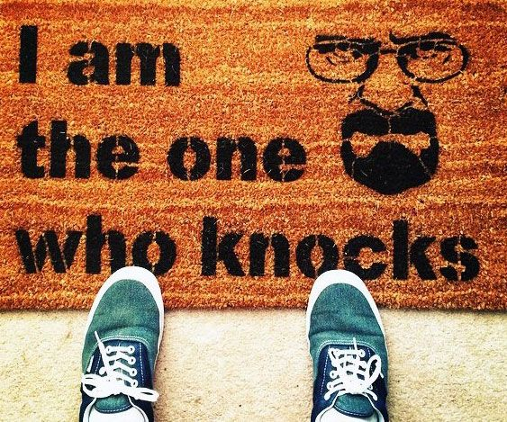 Breaking Bad Quote Doormat