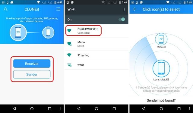 CLONEit Android app