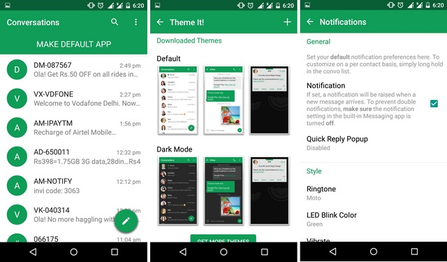 Chomp SMS Android app