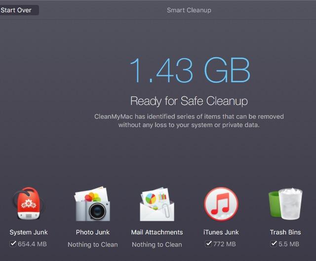 Clean Mac 10d - CleanMyMac