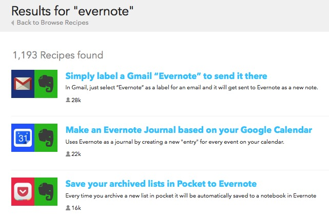 Evernote X 01a - Pre-made Recipes
