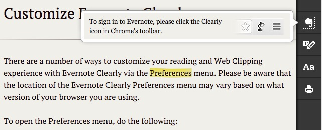 Evernote X 06b - Highlight