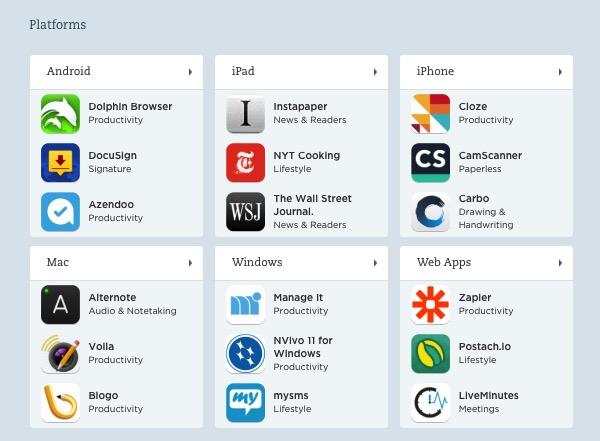 Evernote X 10 - App Center