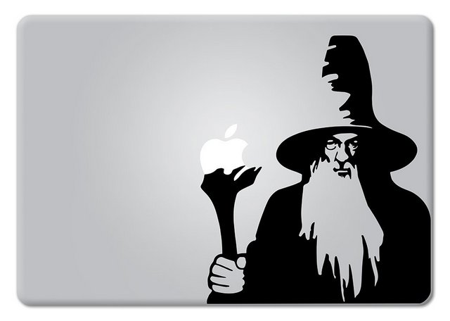 Gandalf Macbook Decal Sticker
