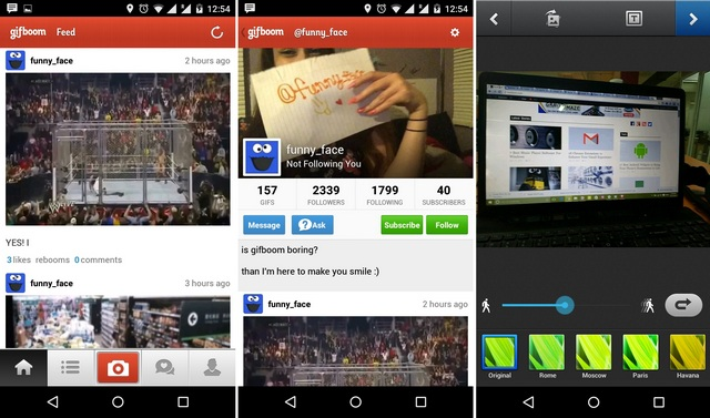 GifBoom Android app