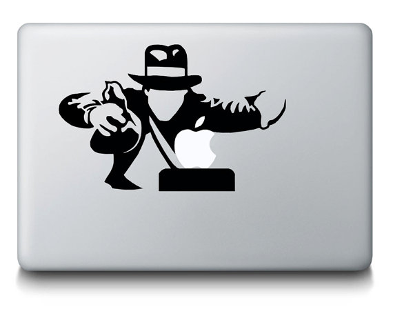 Indiana Jones Macbook Decal Sticker