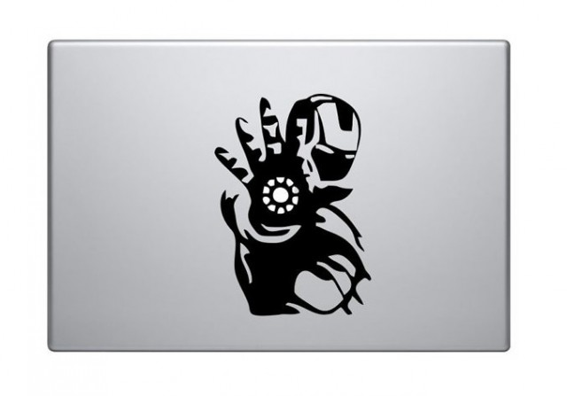 Iron Man Macbook Decal Sticker