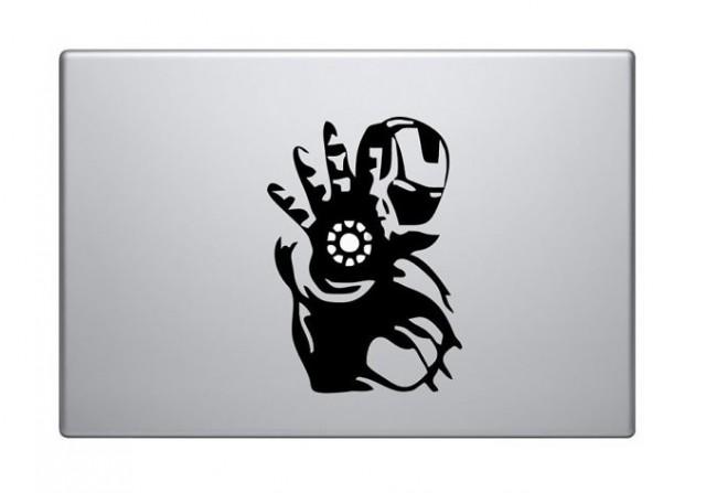 Iron Man Macbook Decal Sticker