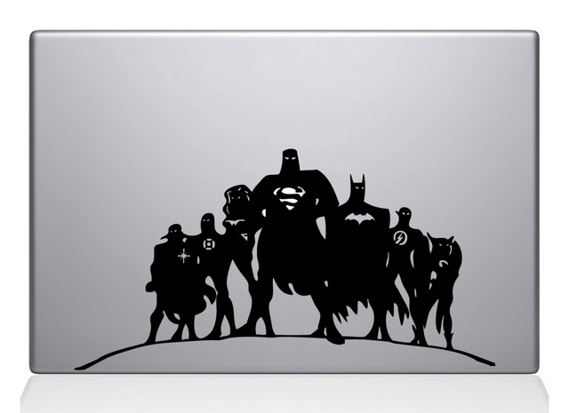 Justice League Macbook Decal Sticker