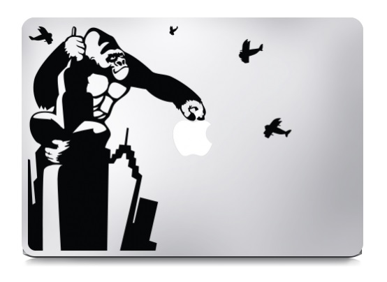 King Kong Macbook Decal Sticker