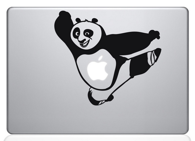 KungFu Panda Macbook Decal Sticker