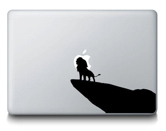 Lion King Macbook Decal Sticker