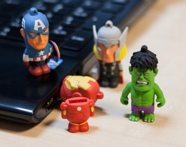 Marvel USB Drives