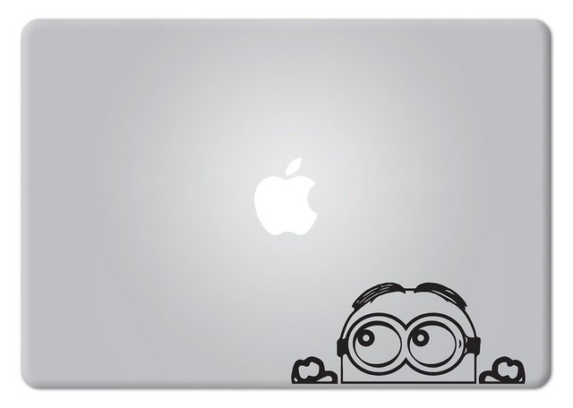 Minion Macbook Decal Sticker