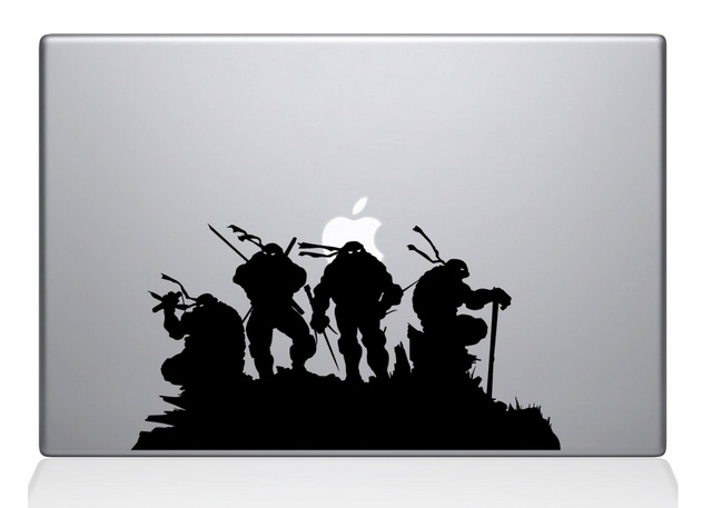 Ninja Turtles Macbook Decal Sticker