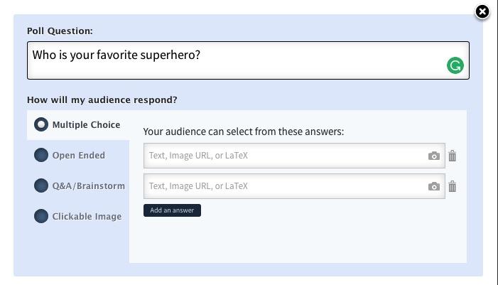 Online Quiz -bb- 11 - Poll Everywhere