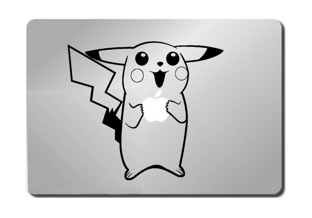 Pokemon Pikachu Macbook Decal Sticker