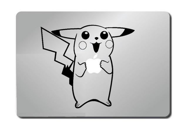 Pokemon Pikachu Macbook Decal Sticker