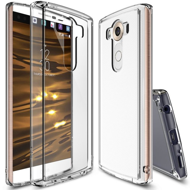 Ringke Fusion Crystal View LG V10 Case